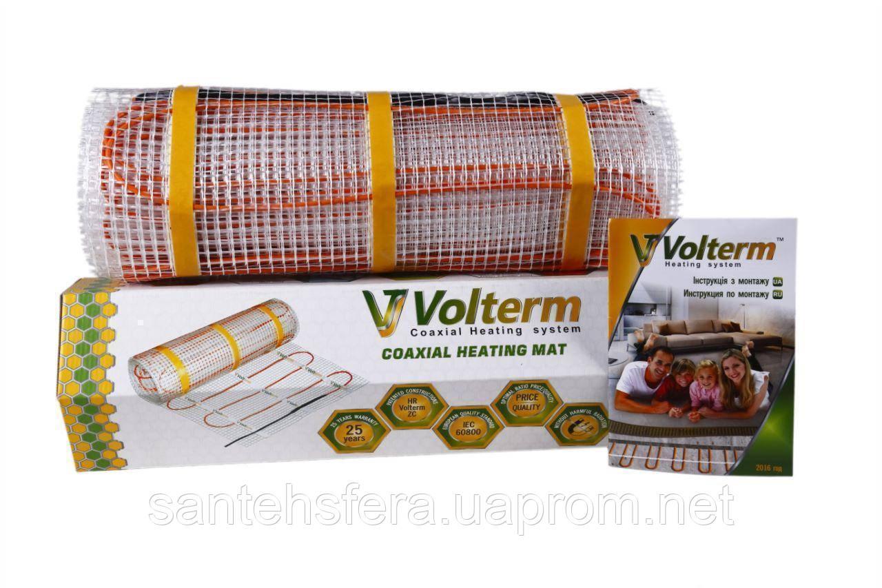 Двухжильный нагревательный мат Volterm Classic Mat 1000  (150 Вт/м2)