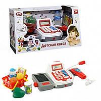 Детский кассовый аппарат co cкaнepoм и микpoфoнoм c пpoдуктaми, Play Smart (2294), фото 1