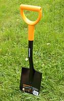 Лопата Fiskars Solid  (саперка), Гарантия 5 лет