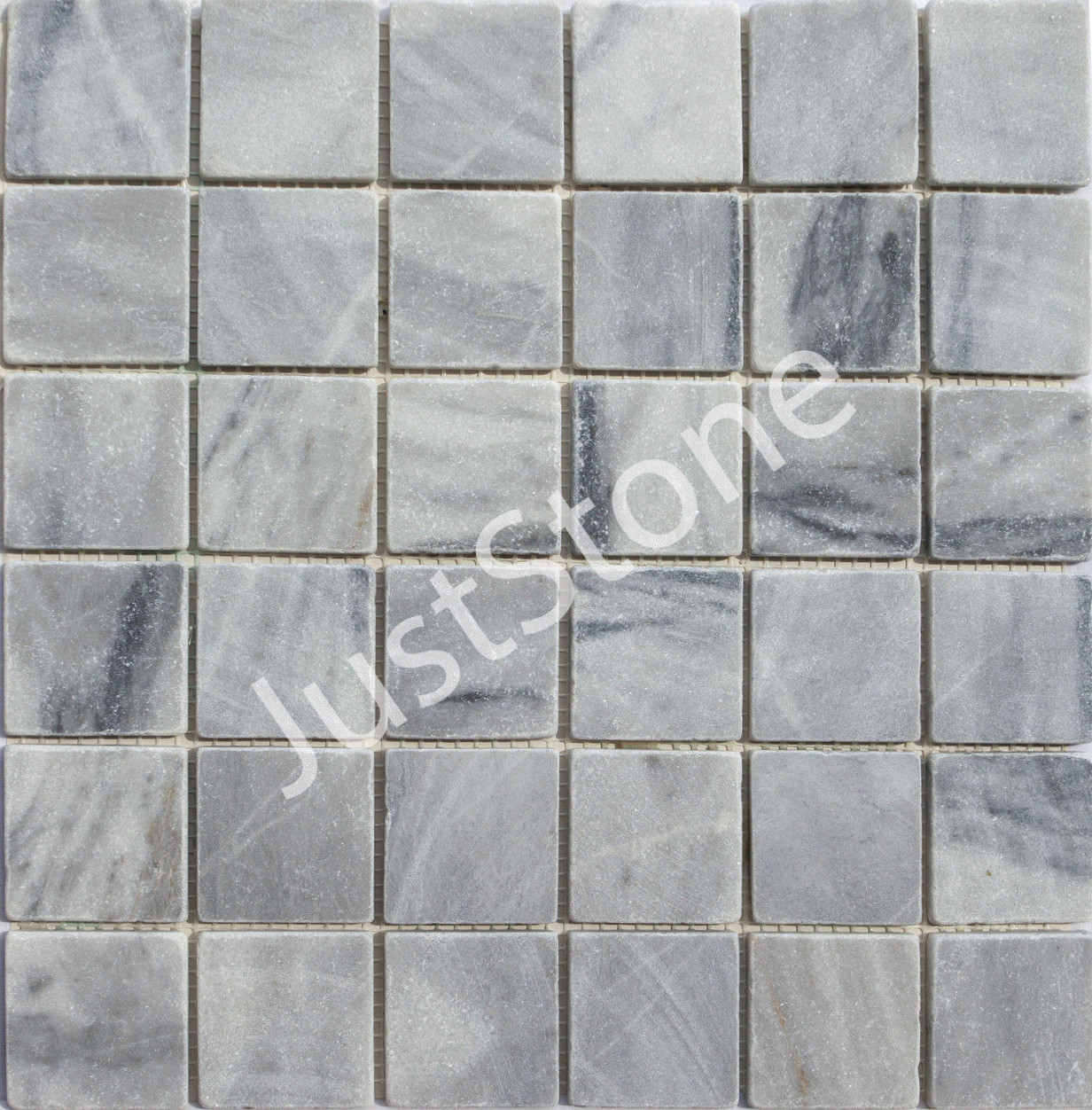 Мраморная Мозаика Стар.Валт. МКР-3СВ (47х47) 6 мм Grey Mix