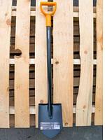 Лопата Fiskars Solid  (штыковая), Гарантия 5 лет