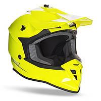 Мото шлем GEON 633 MX FOX CROSS NEON YELLOW