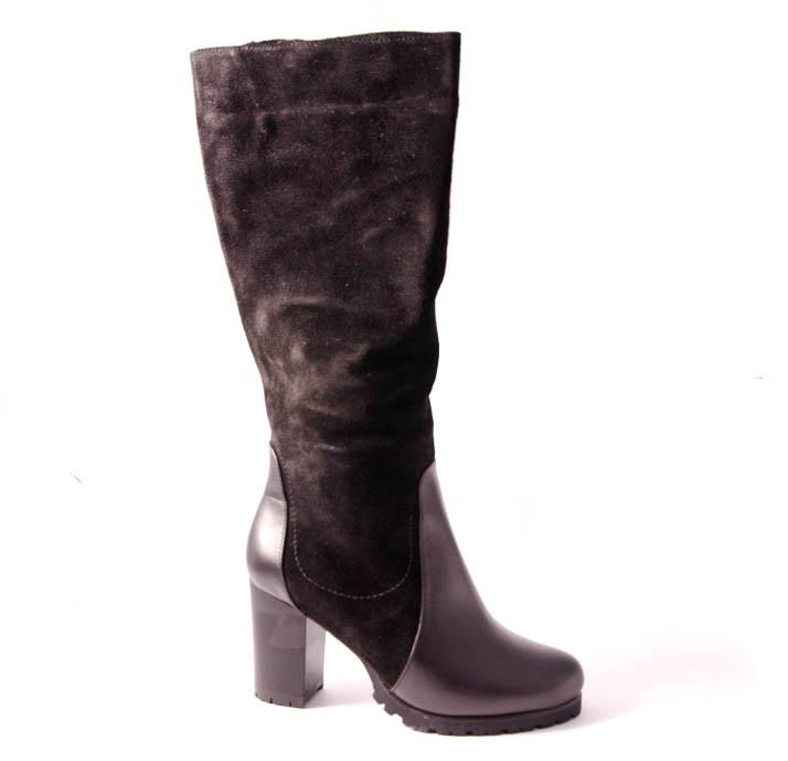 Сапоги женские черные Romani 9563215/4 р.36-41
