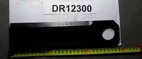 DR12300, Нож измельчителя с наплавкой (290x70x6мм / диаметр 35,5мм)(502763)(15340), Olimac Drago