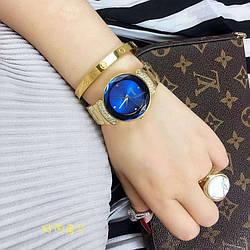Часы с камнями Di or Shine Blue реплика