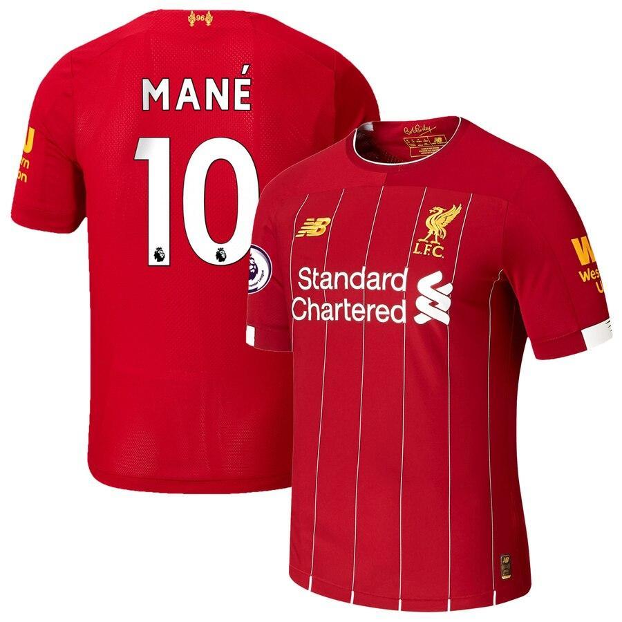 Футбольная форма Ливерпуль MANE 10 сезон 2019-2020 основная красная