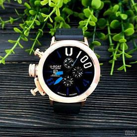 Наручные часы стандарт U-boat Italo Fontana Cuprum-Black-Blue