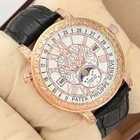 Наручные часы премиум  Patek Philippe Grand Complications 6002 Sky Moon Black-Gold-White