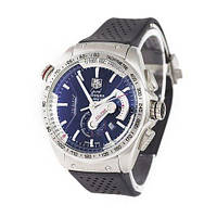 Наручные часы премиум  Tag Heuer Grand Carrera Calibre 36 quartz Chronograph Silver