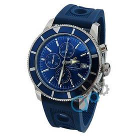 Наручные часы премиум Breitling AAA Blue-Silver