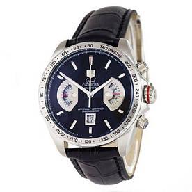 Наручные часы премиум  Tag Heuer Grand Carrera Calibre 17 quartz Chronograph Silver