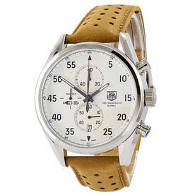 Наручные часы премиум TAG Heuer Carrera 1887 SpaceX Quartz Silver-White