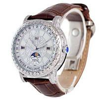 Наручные часы премиум  Patek Philippe Grand Complications 6002 Sky Moon Brown-Silver-White