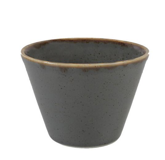 Салатник - 11 см, 390 мл, Серый (Porland) Seasons Dark Gray