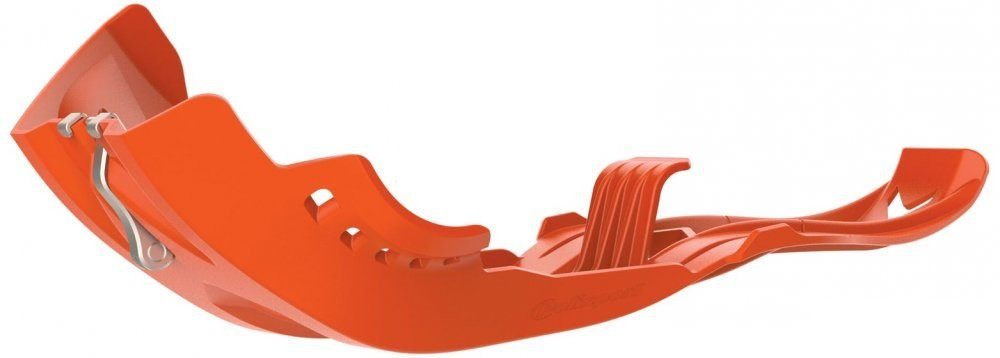 Захист двигуна Polisport FORTRESS Skid Plate [Orange]