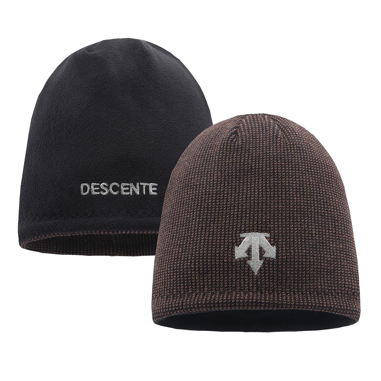 Шапка двухсторонняя Descente для взрослых и подростков шапки десенте