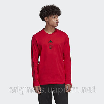 Мужской лонгслив adidas Manchester United FJ7687 2019/2, фото 2