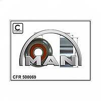 Натяжной (направляющий) ролик MAN
