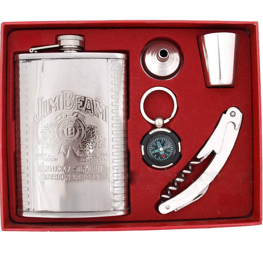Мужской подарочный набор с флягой 255мл № TZ2