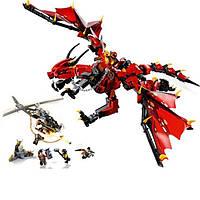 Конструктор Первый страж — Красный Дракон 988 деталей