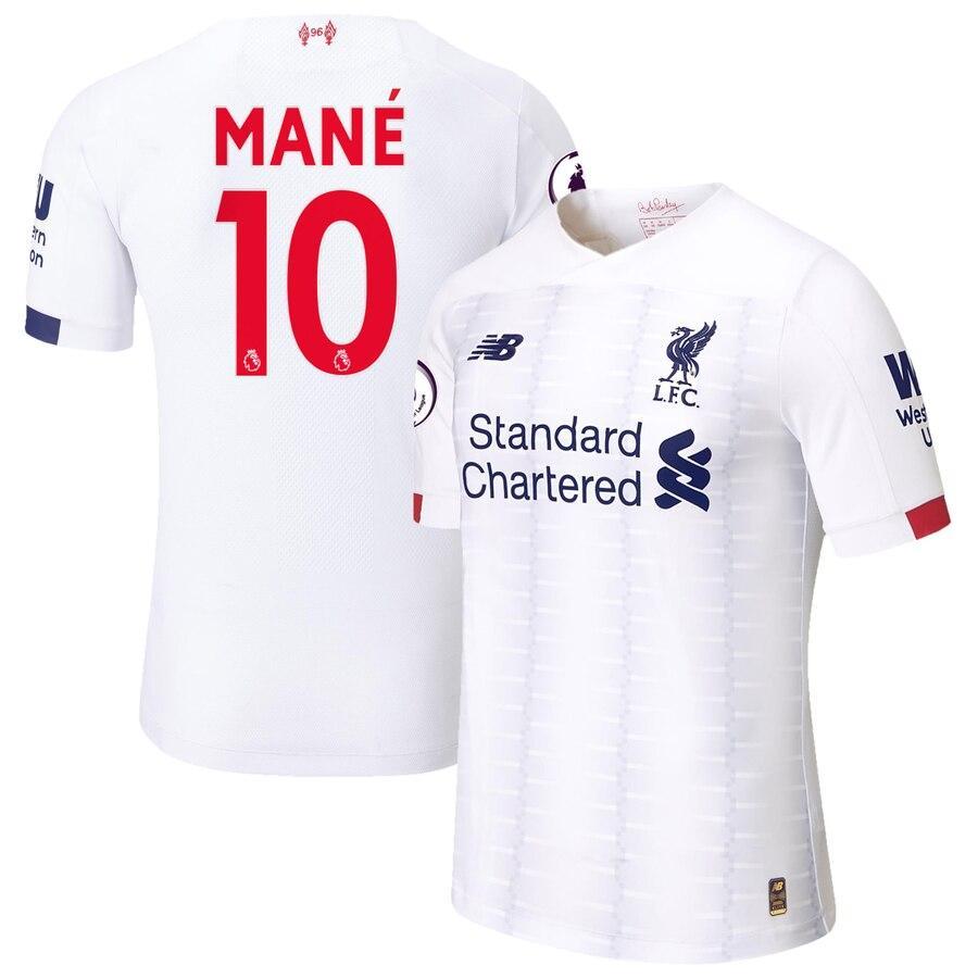 Футбольная форма Ливерпуль MANE 10 сезон 2019-2020 запасная белая