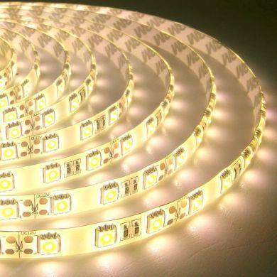 Светодиодная лента B-LED 5050-60 WW IP65 теплый белый, герметичная, 5метров