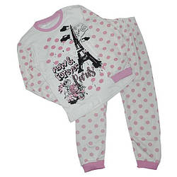 Пижамы детские для девочек, размер от 7-8-9 лет (3 ед. в уп. )
