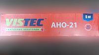 СВАРОЧНЫЕ ЭЛЕКТРОДЫ - АНО-21 д. 4 мм уп. 5 кг (ВИСТЕК)