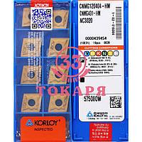 Пластина KORLOY СNMG 120404 HM NC3020