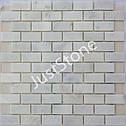 Мозаика Полир. МКР-11П (47х23) 6 мм White Mix, фото 2