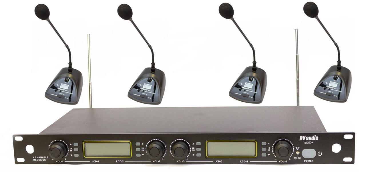 Радиосистема DV audio MGX-44C