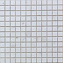 Мраморная Мозаика Полированная МКР-2П (23x23) 6 мм White Mix, фото 2