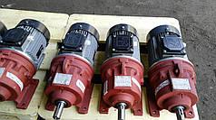 Мотор-редуктор планетарный двухступенчатый 3МП-31.5 35.5 об/мин с эл.двиг АИР71В4  0.75 кВт