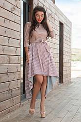 Платье верх кожа в расцветках 72883
