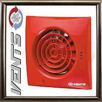 Вытяжной Вентилятор Вентс 100 Квайт (красный) бытовой