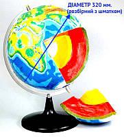 Модель- глобус Будова Землі (розбірна), фото 1
