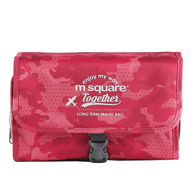 Большая косметичка M Square розовый хаки