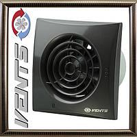 Вытяжной Вентилятор Вентс 100 Квайт (черный)