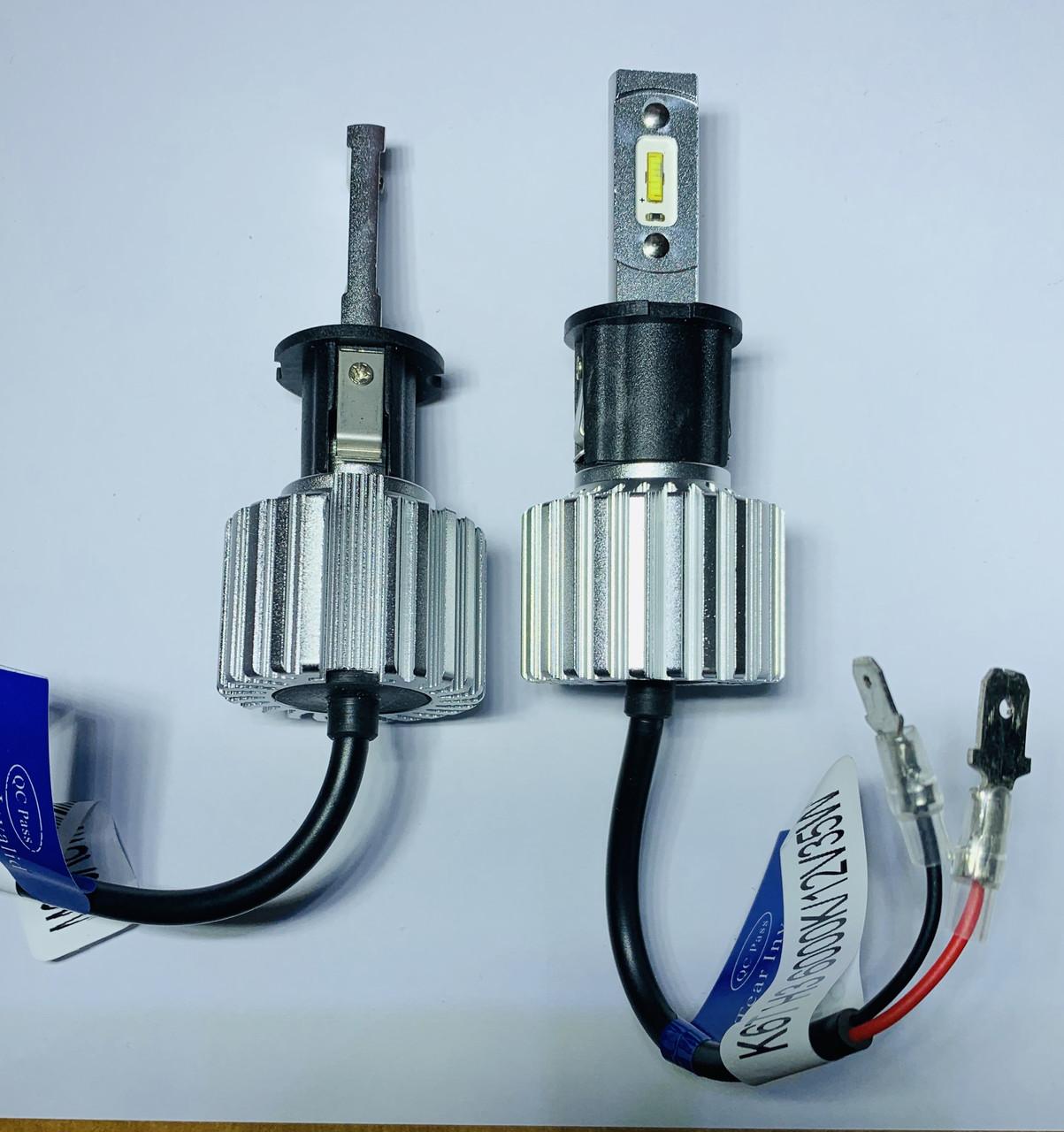 Светодиодная LED лампа головного света KT CSP 8000Lm 70Watt (H3 цоколь)