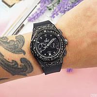 Женские наручные часы  Hublot Big Bang Small чёрный цвет