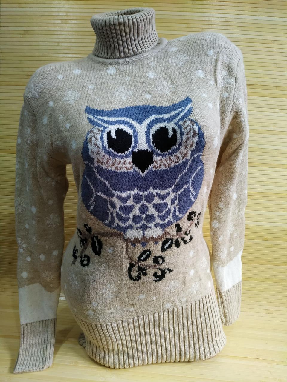 Вязаный свитер туника оптом от производителя