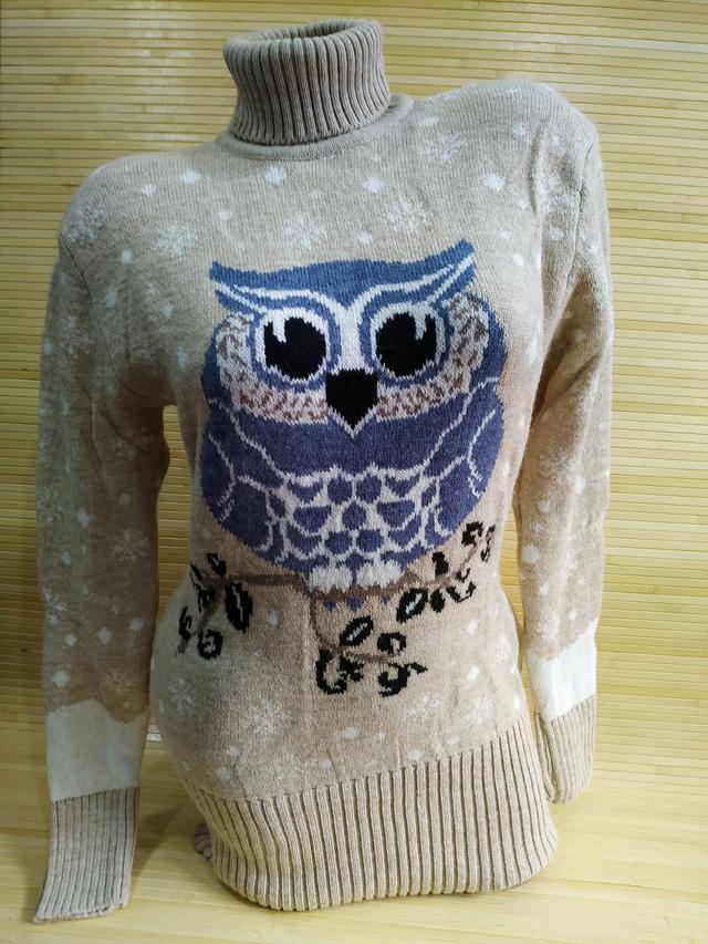 фото туника свитер с совой