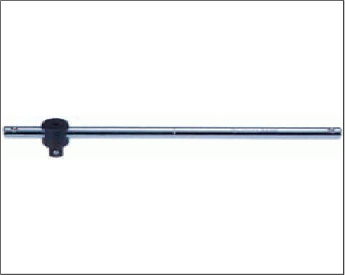 """Вороток 3/8"""" 200мм, 180гр, T-подібний  HANS 3770"""