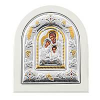 Икона Святое семейство с серебрением 000127169