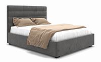 Кровать двуспальная под матрас 1600х2000 с мягким изголовьем Brigida