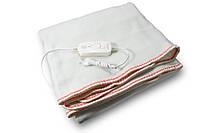 🔝 Электропростынь двуспальная с сумкой (160х115 см, 100 W), Electric Blanket, Красная, электроодеяло | 🎁%🚚