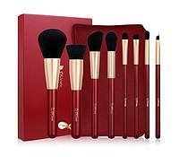 Подарок к Рождеству Набор кистей для макияжа DUcare 8 Pcs Pro Makeup Brush Set