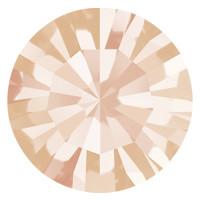 Пришивные стразы в цапах Preciosa (Чехия) ss29 Light Peach/золото