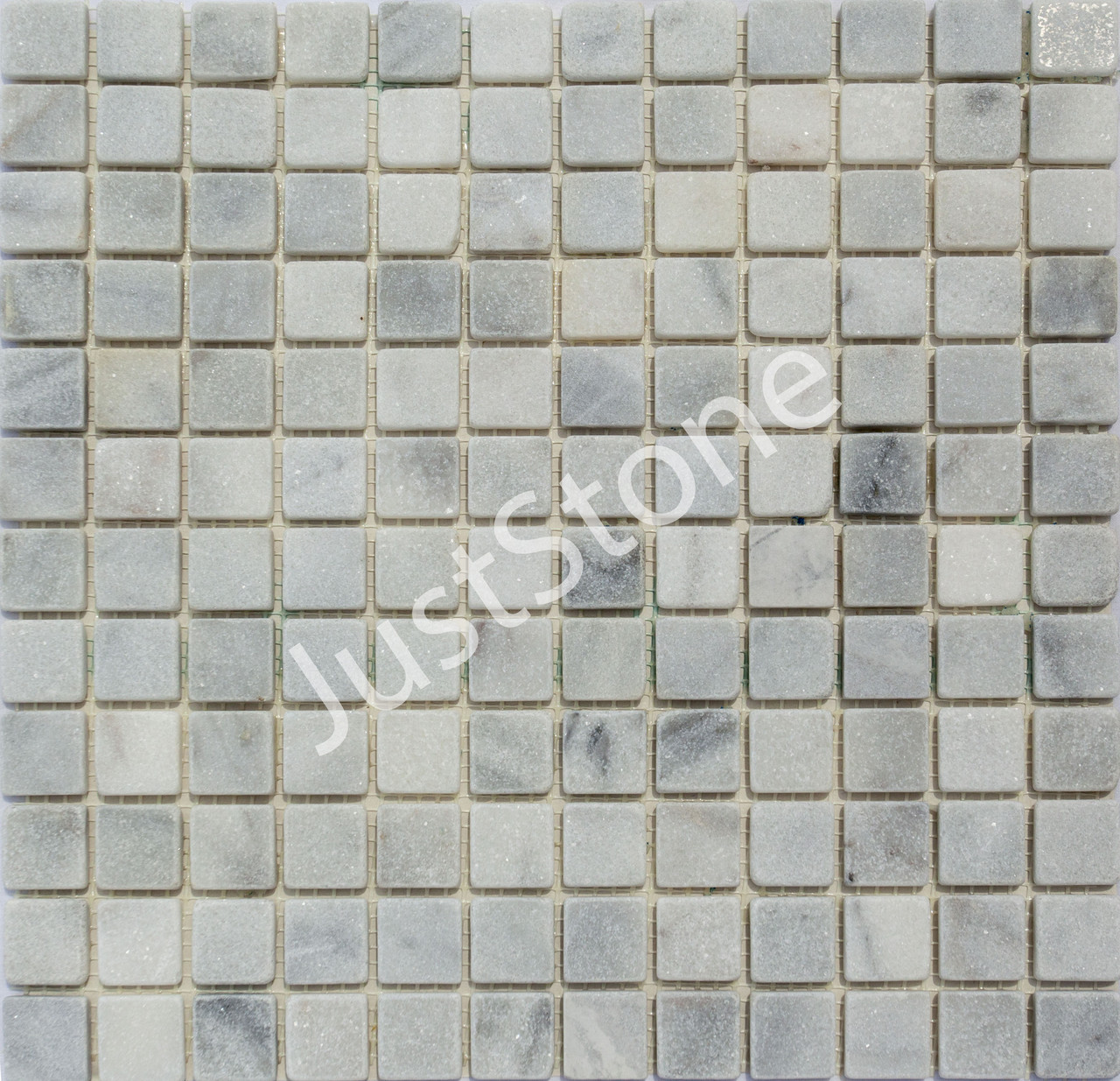 Мраморная Мозаичная плитка Стар.Валт. МКР-2СВ (23х23) 6 мм White Mix