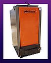 Шахтный котел Бизон термо 15 квт 4 мм(утепленный)BIZON Тermo eco. Длительного горения. Котел Холмова, фото 7